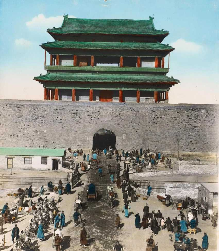 Seventeen historical photos of the forbidden city and the summer Palace - photo 14