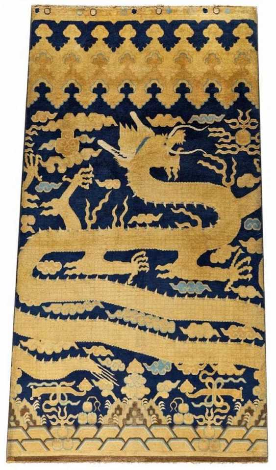 A major pillar rug with dragon - photo 1