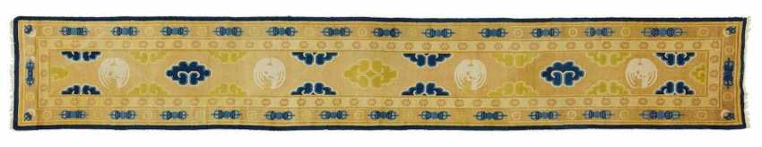 Carpet with crane medallions as a cross hanging - photo 1