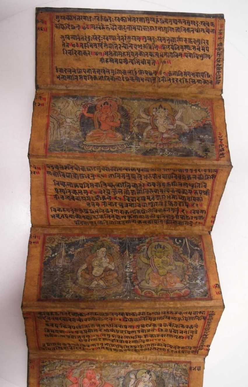 Thangka of the fighting Buddha king Rudracakrin - photo 4