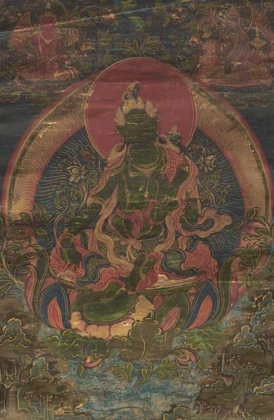 Thangka of the Green Tara - photo 1