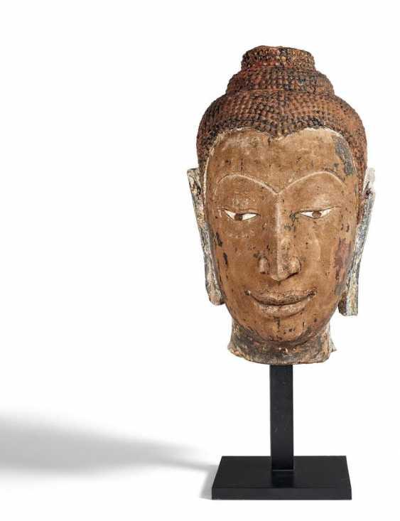 Grand Bouddha Tête - photo 1