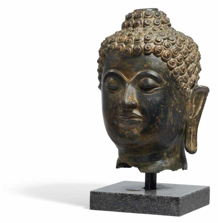 Large Buddha Head - photo 1