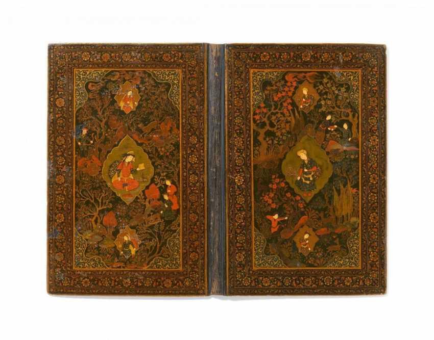 Significant rich-painted bookbinding (jild-i kitab) - photo 1