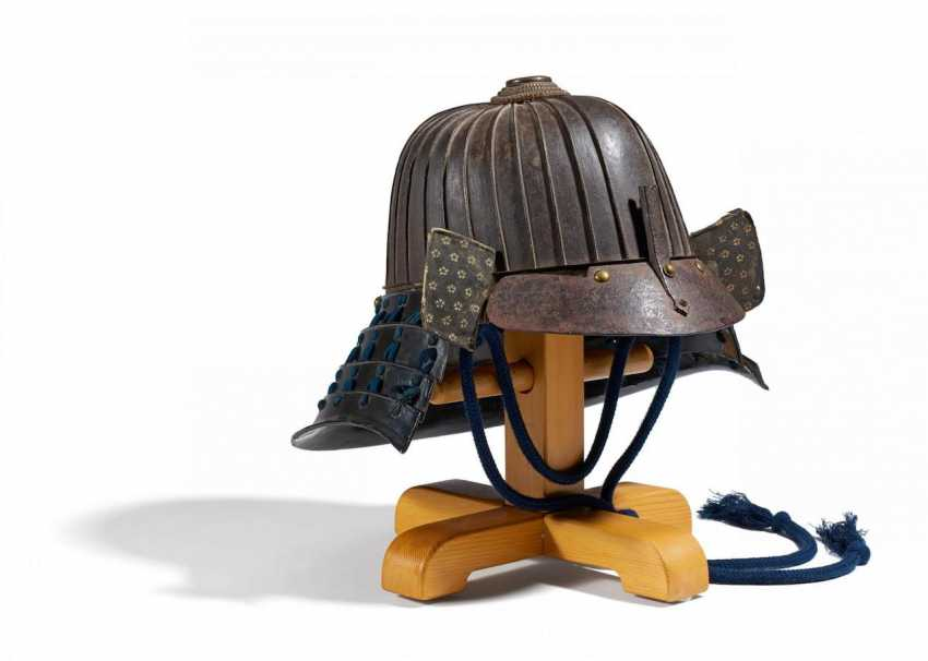 Helmet (kabuto) is made of thirty plates - photo 1