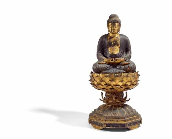 Significant sitting Buddha Amida Nyôrai - photo 1