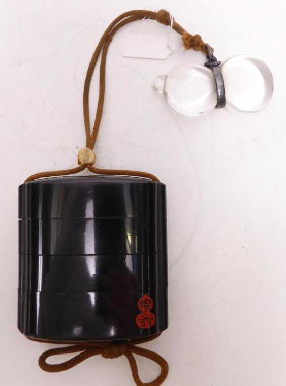 Inrô with suiteki-ornamental stone in the Chinese style - photo 2