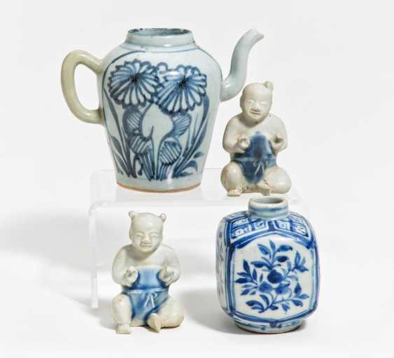 Four blue and white porcelains - photo 1