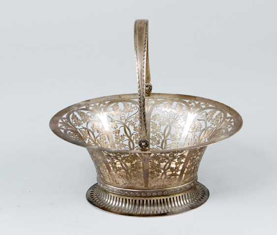Austrian silver basket - photo 1