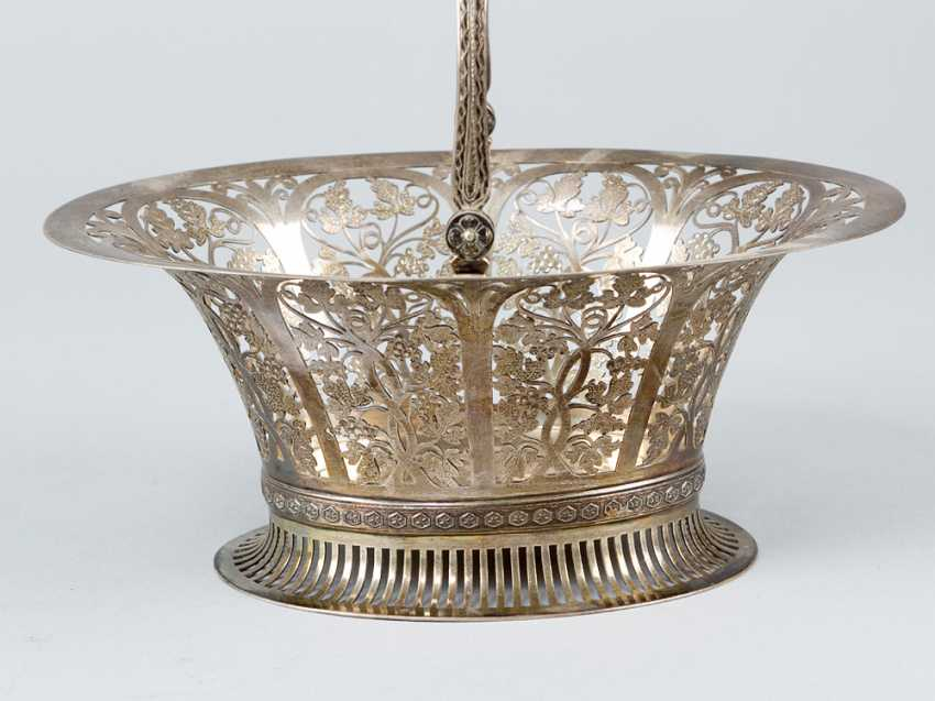 Austrian silver basket - photo 3