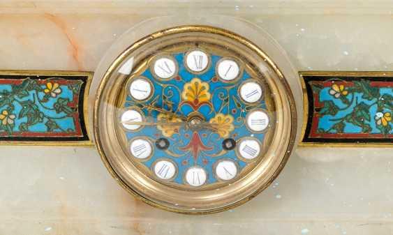 French Belle Epoque Clock set - photo 2