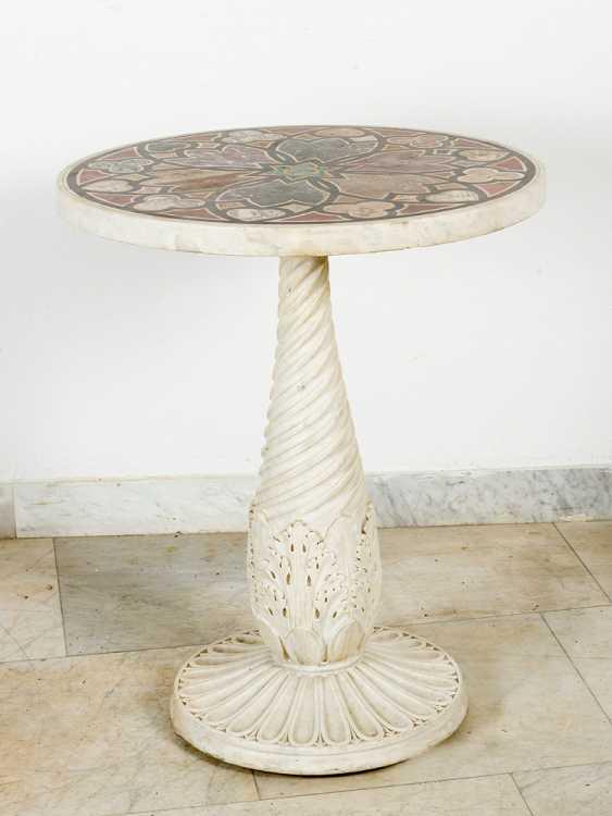 Italian marble Table, 19.th century - photo 1