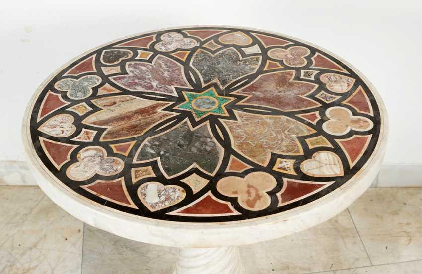 Italian marble Table, 19.th century - photo 2