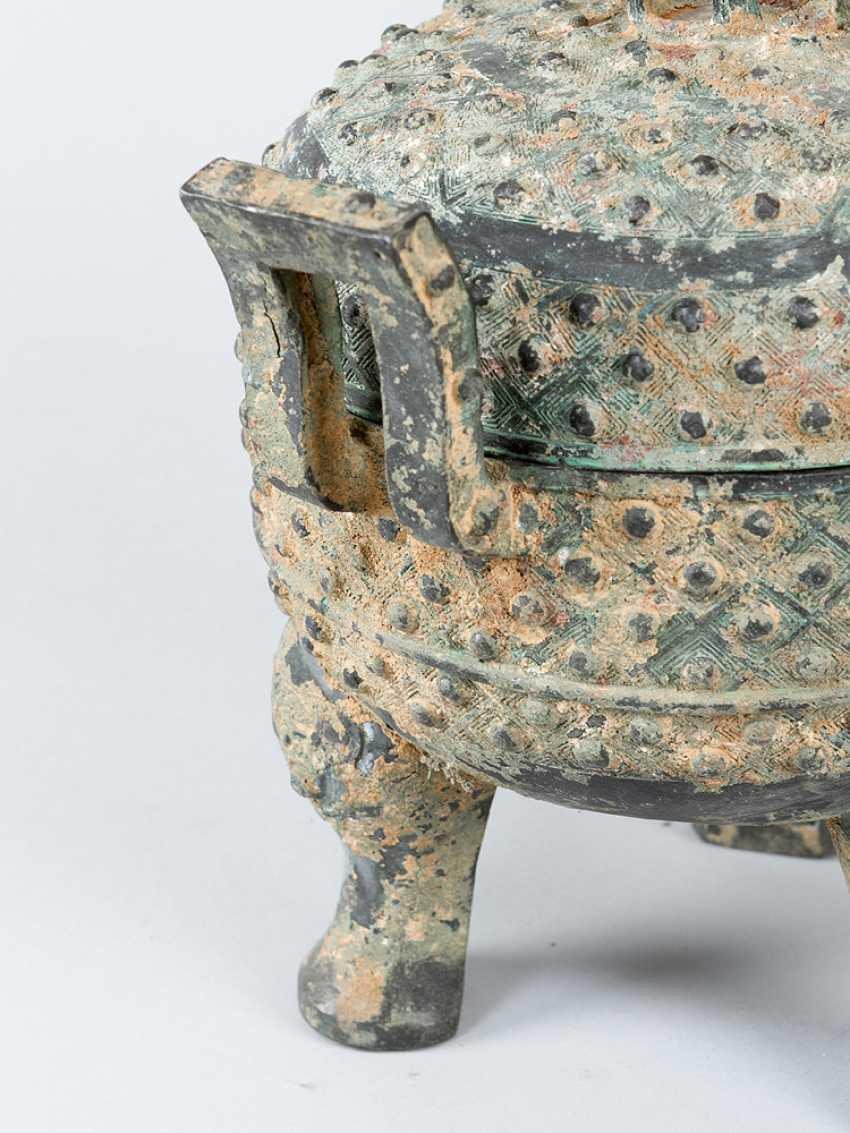 Shang Dynasty Vessel - photo 3