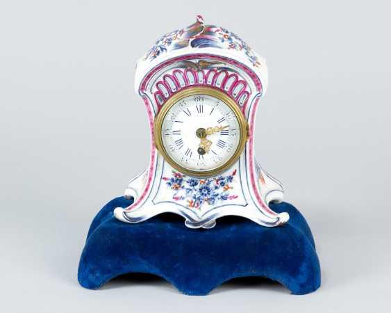 Vienna Porcelain Clock, 18.th Century - photo 1