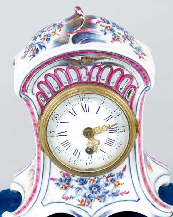 Vienna Porcelain Clock, 18.th Century - photo 2