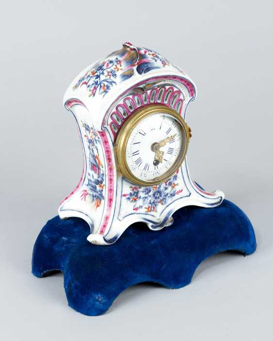 Vienna Porcelain Clock, 18.th Century - photo 3