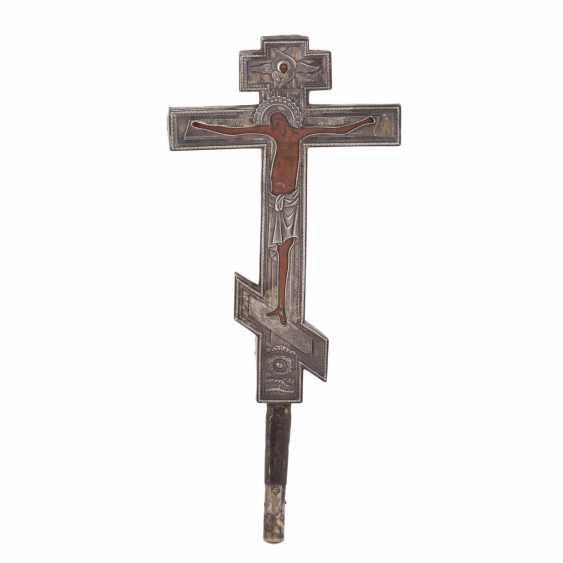 Double-sided altar cross. The beginning of the 18th century - photo 1