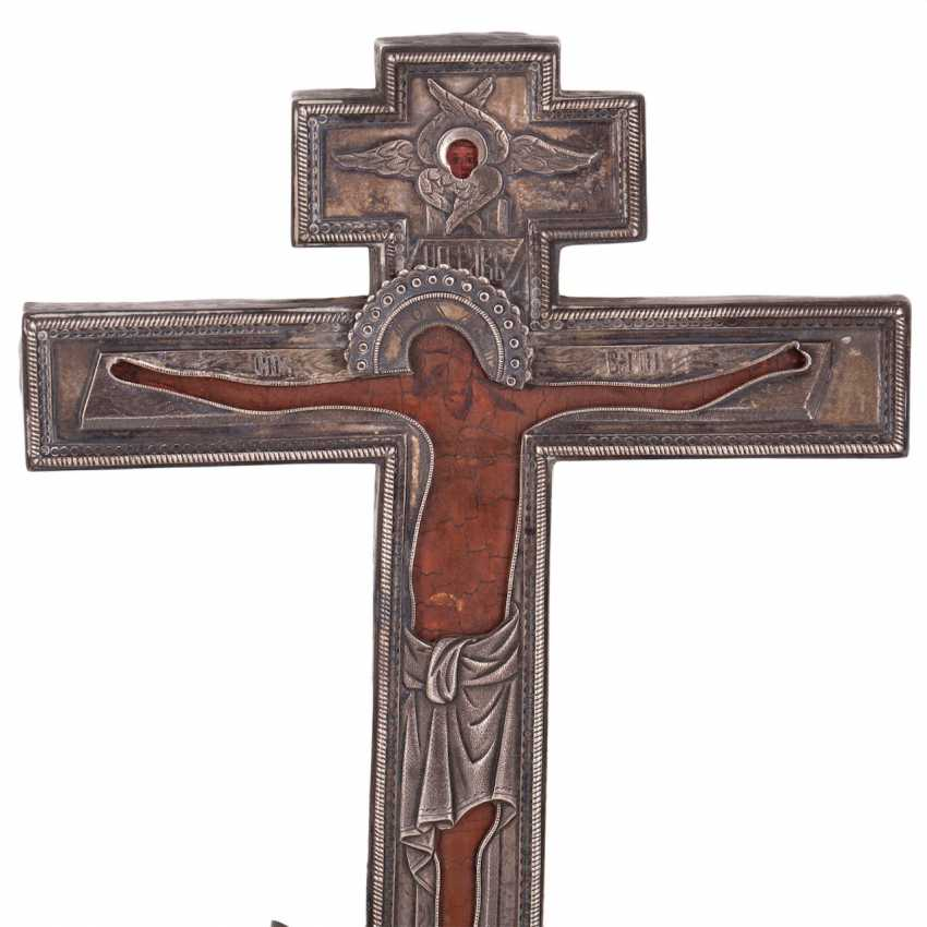 Double-sided altar cross. The beginning of the 18th century - photo 2