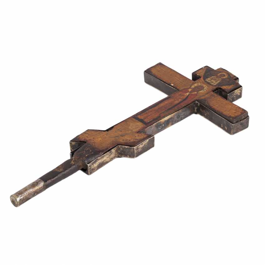 Double-sided altar cross. The beginning of the 18th century - photo 4