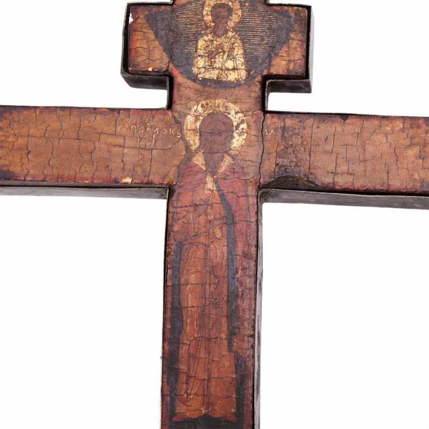 Double-sided altar cross. The beginning of the 18th century - photo 5