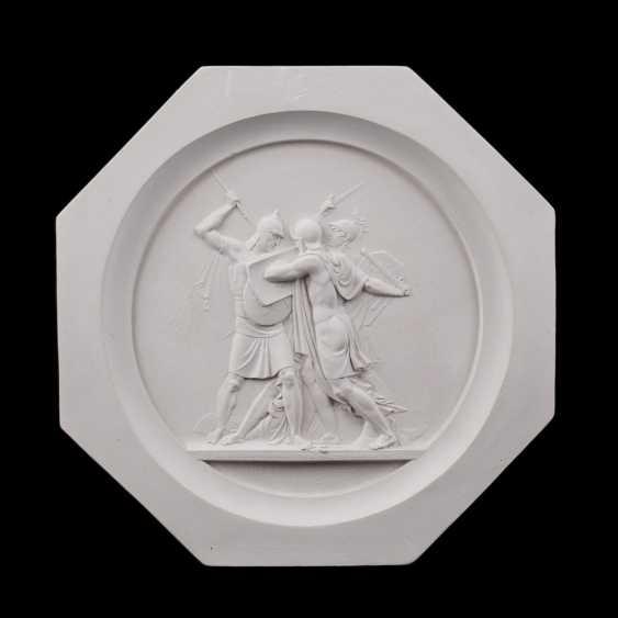 "Embossed medallion ""Battle of Borodino"" - photo 1"