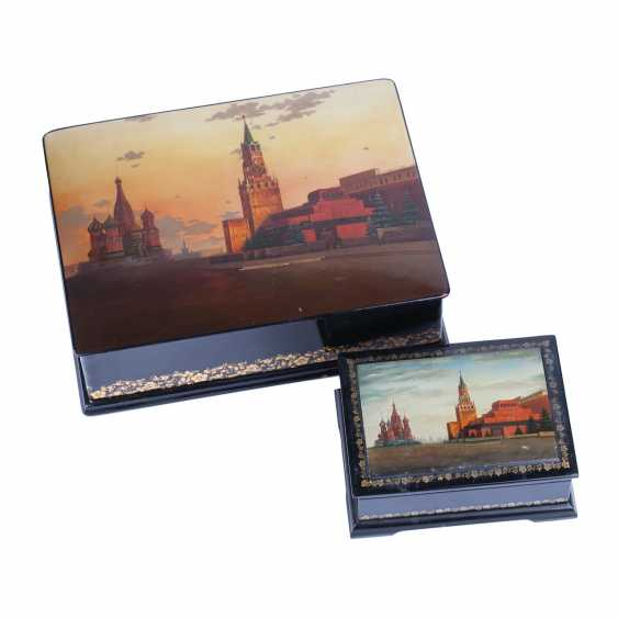 Two boxes with a picture of Moscow Kremlin - photo 1