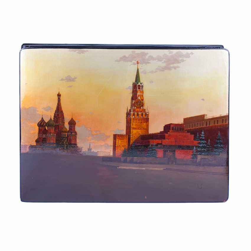 Two boxes with a picture of Moscow Kremlin - photo 2