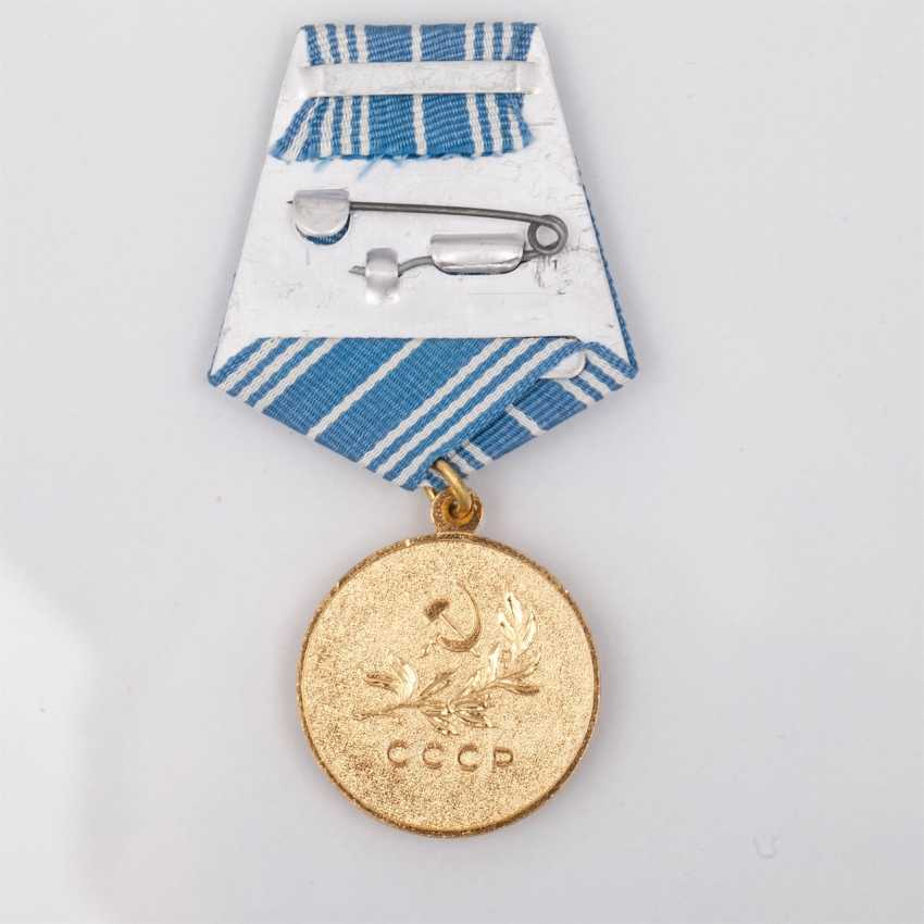 """Medal """"For the rescue of drowning"""" documents - photo 3"""