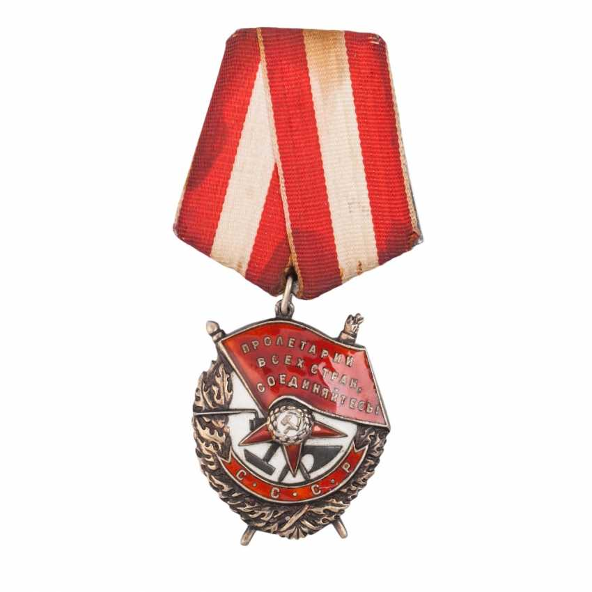 Order of the red banner, type 4 Round - photo 1