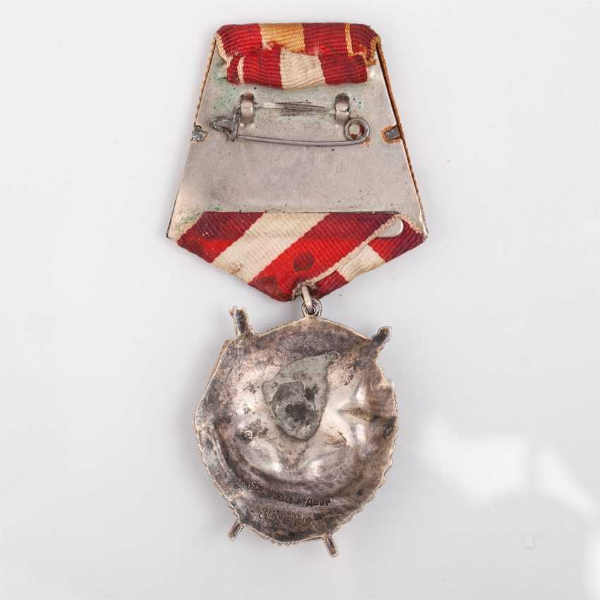 Order of the red banner, type 4 Round - photo 2