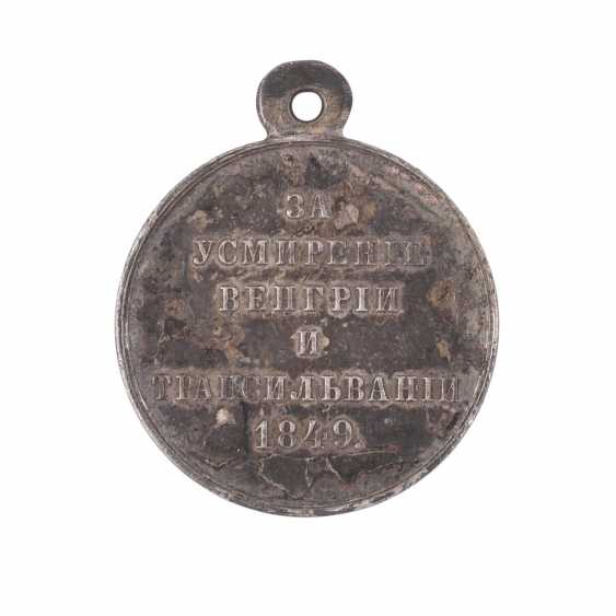 """Medal """"For pacification of Hungary and Transylvania"""" - photo 2"""