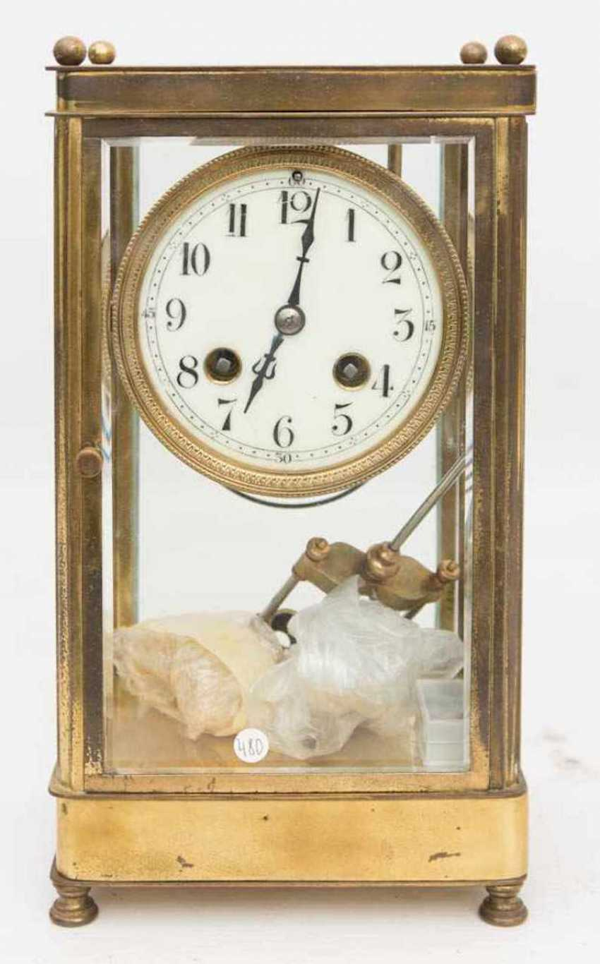 FRENCH CLOCK WITH PENDULUM WORKS - photo 1