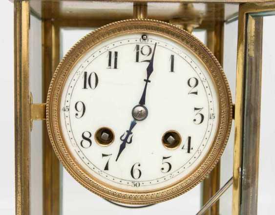 FRENCH CLOCK WITH PENDULUM WORKS - photo 2