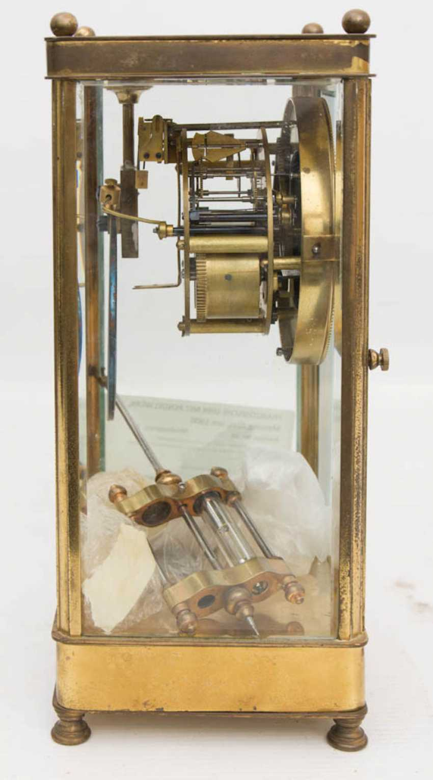 FRENCH CLOCK WITH PENDULUM WORKS - photo 5