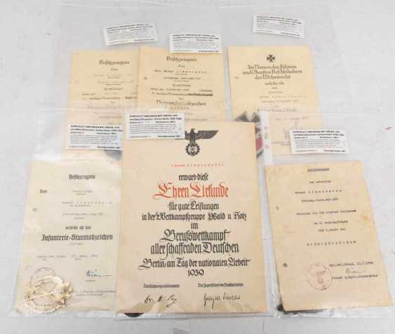 COLLECTION OF DOCUMENTS WITH THE ORDER - photo 1