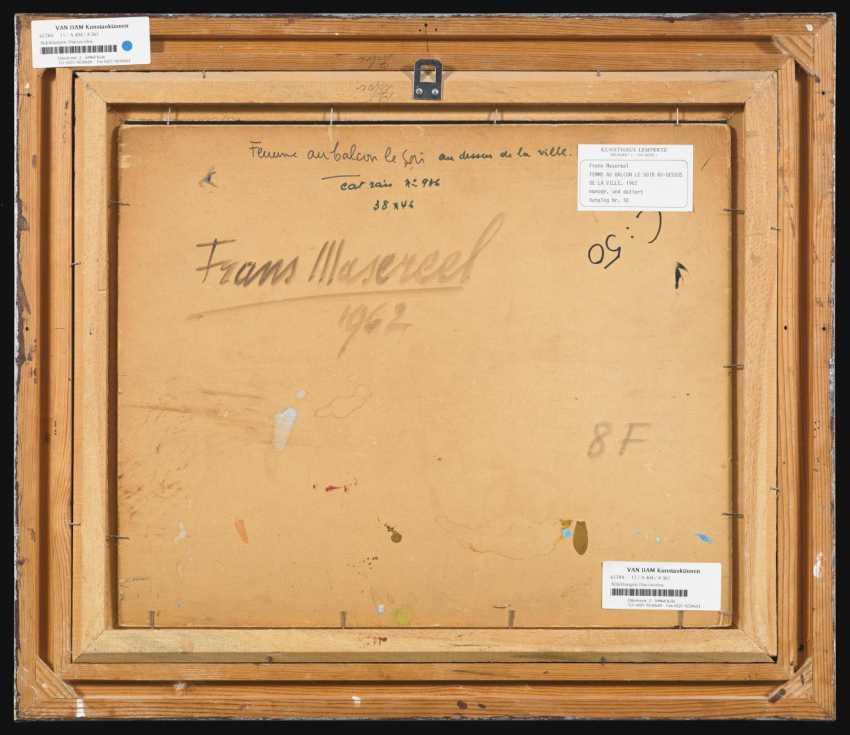 masereel frans 1889 blankenberghe 1972 avignon lot 481. Black Bedroom Furniture Sets. Home Design Ideas