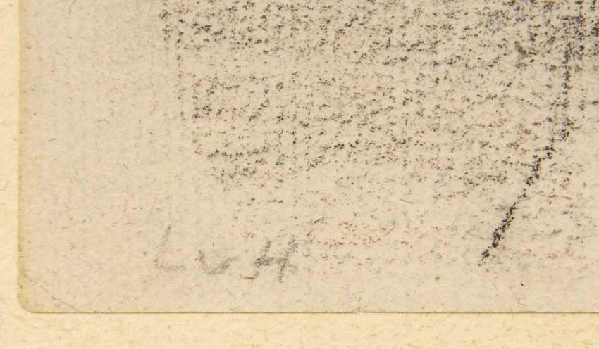 HOFMANN, Ludwig von: 2 charcoal drawings - photo 4