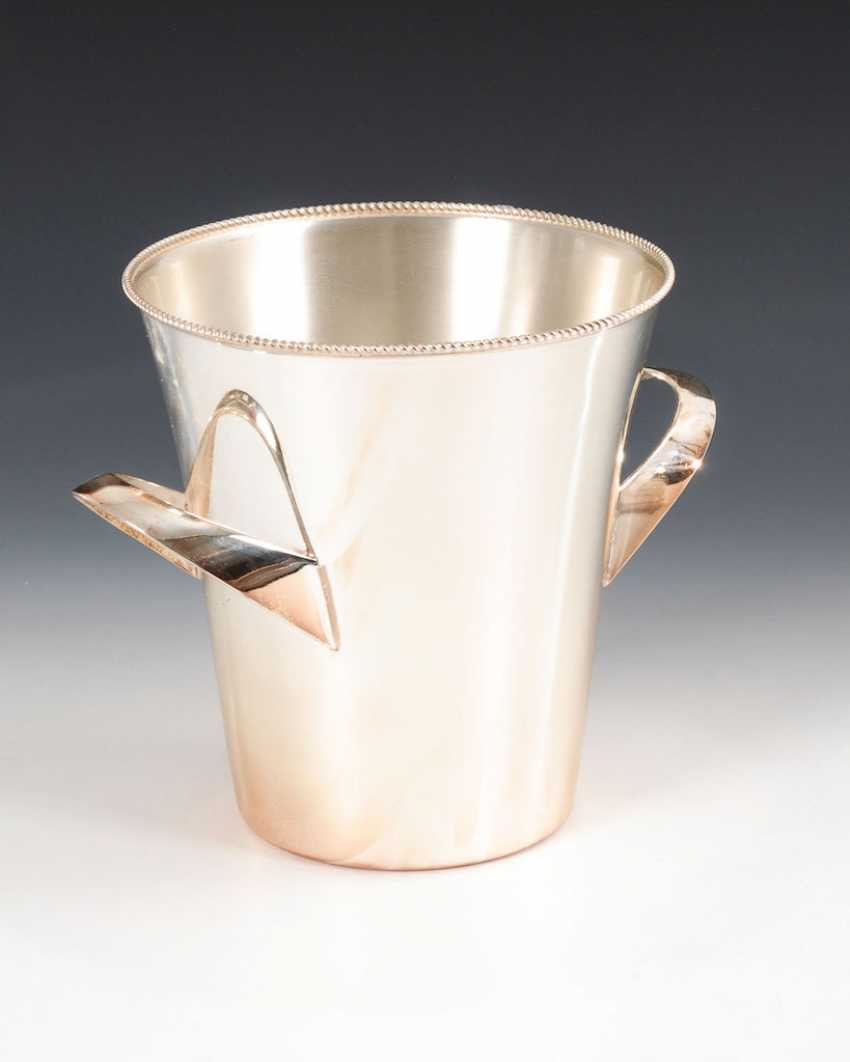 Silver-plated champagne cooler, WMF. - photo 1