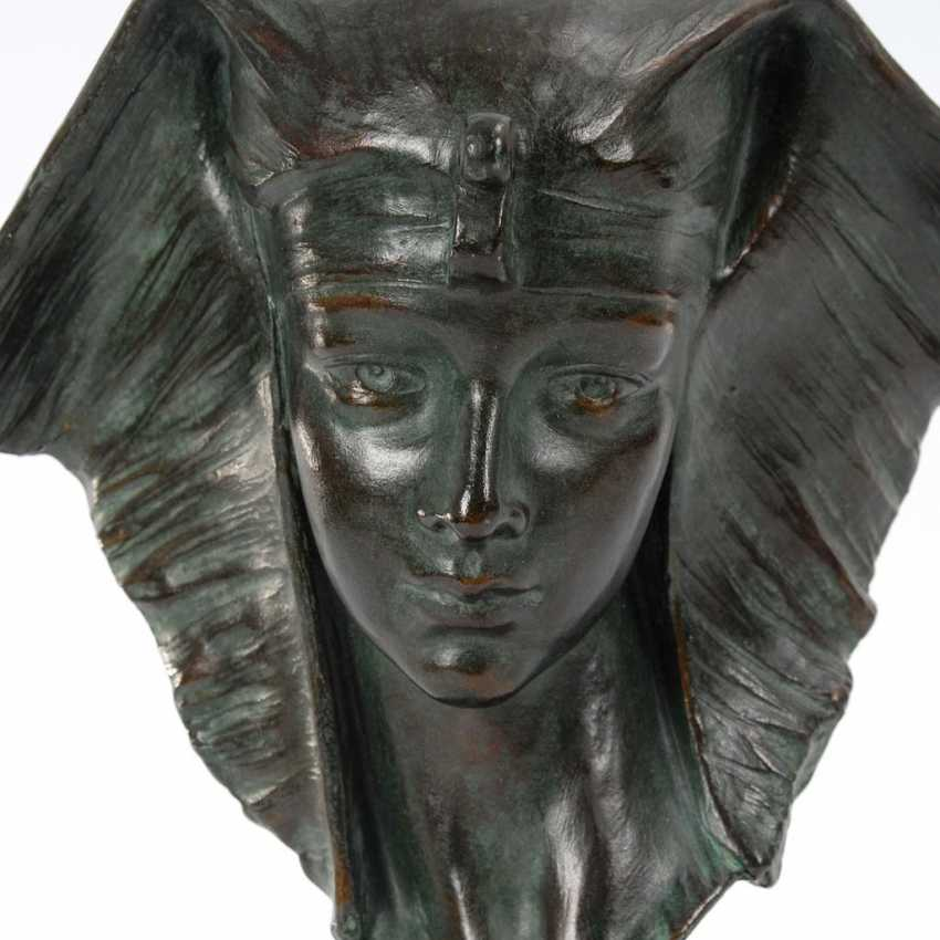CARLI, G.: bust of a young Egyptian woman - photo 2