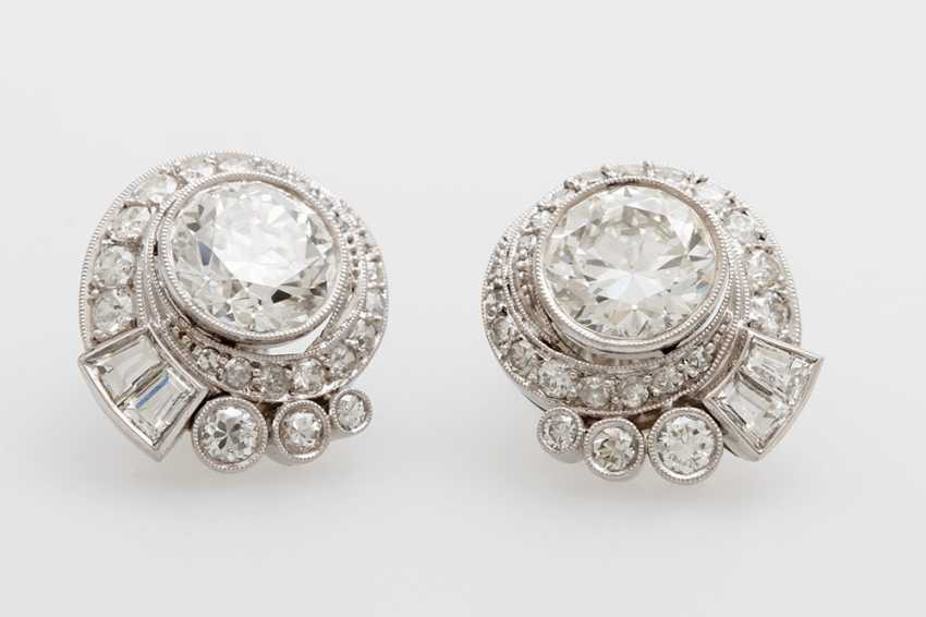 ART DECO elaborate earrings