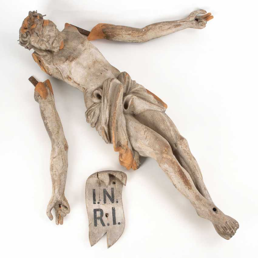 A large Corpus of Christ from a Kruzifi - photo 1