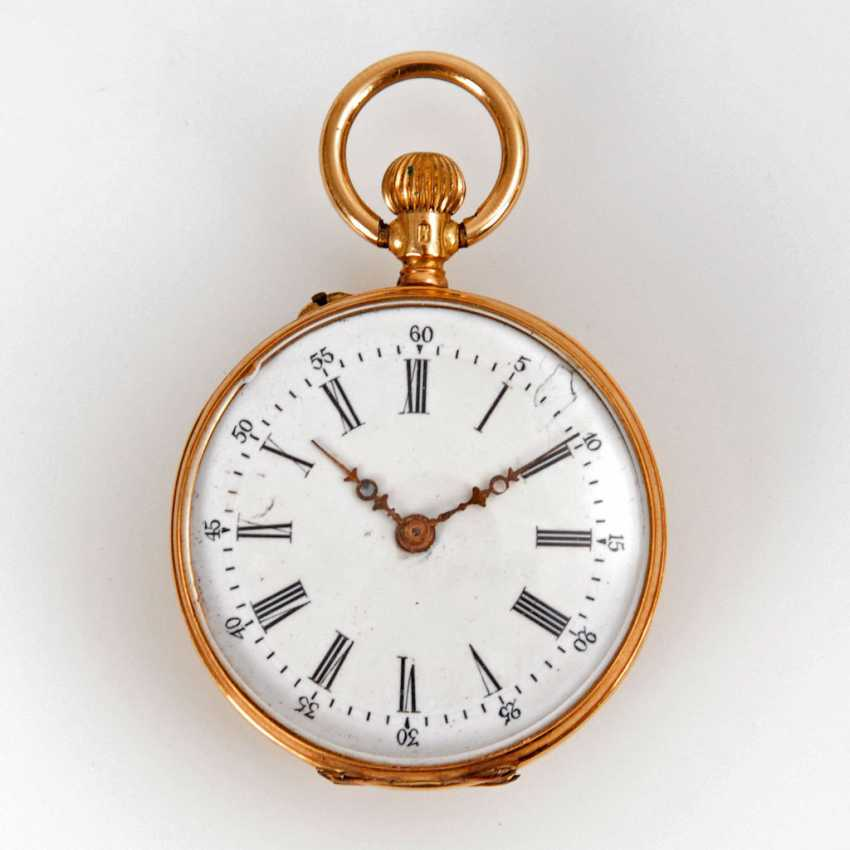 Small gold ladies pocket watch. - photo 1