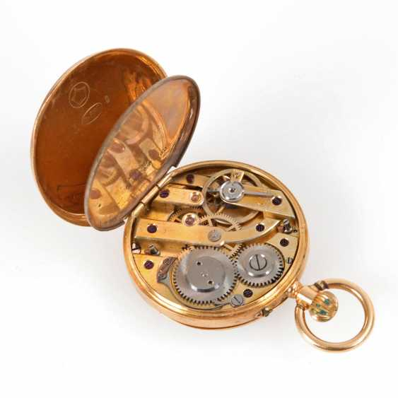 Small gold ladies pocket watch. - photo 2