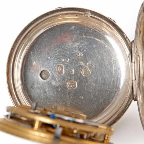 Silver English pocket watch. - photo 3