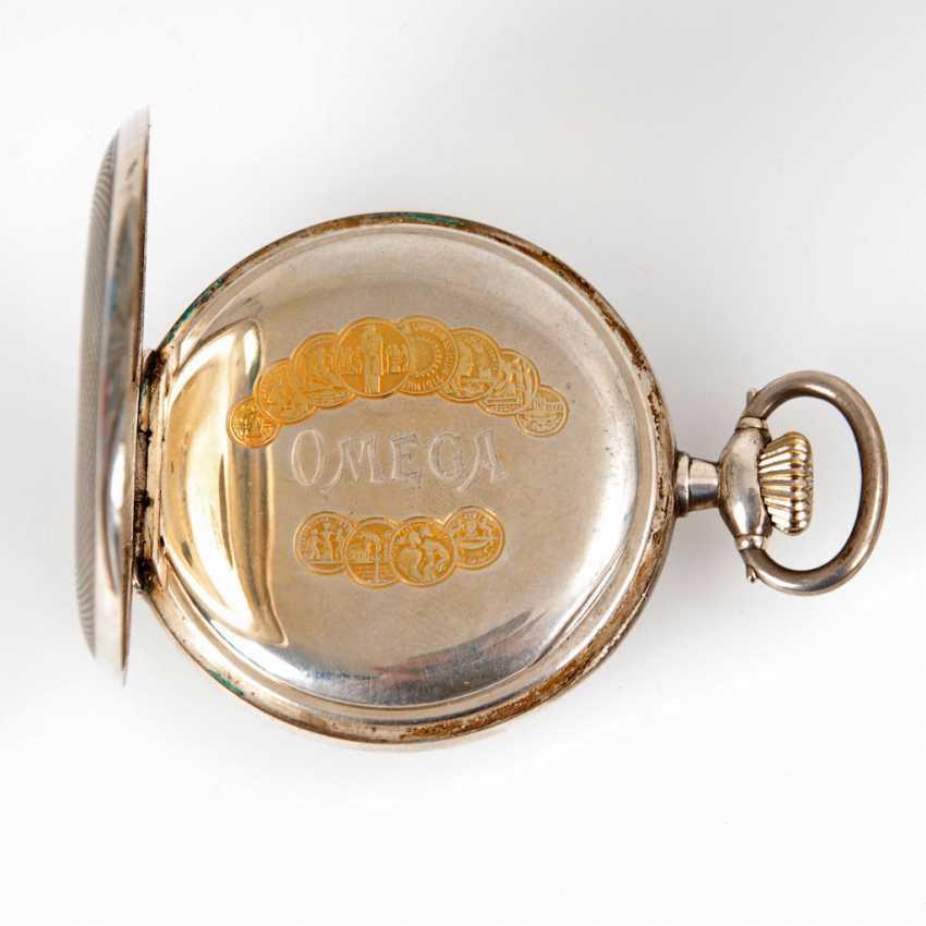 Silver pocket watch, OMEGA. - photo 2