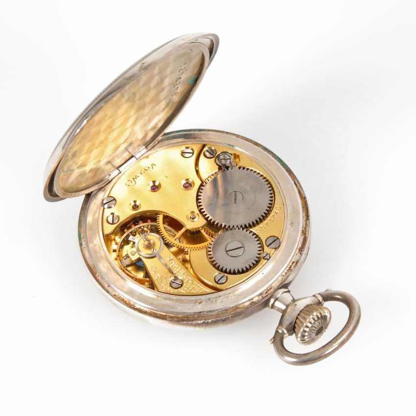 Silver pocket watch, OMEGA. - photo 3