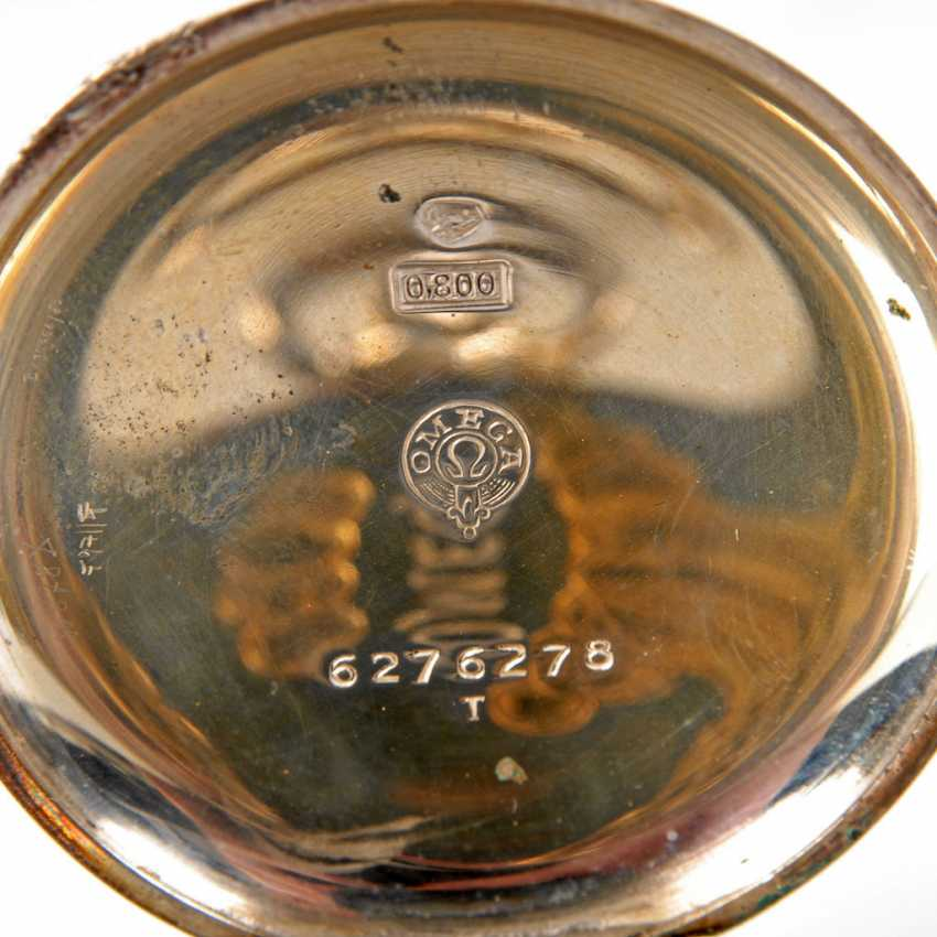 Silver pocket watch, OMEGA. - photo 4