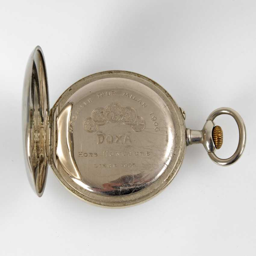 Large pocket watch in heavy Panzerkett - photo 2