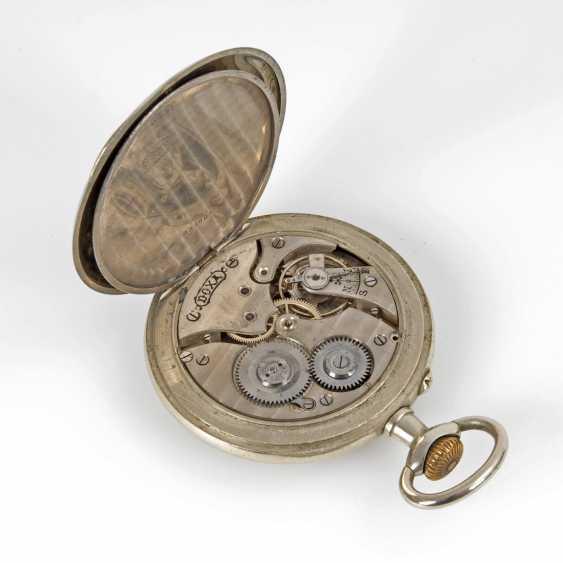 Large pocket watch in heavy Panzerkett - photo 3